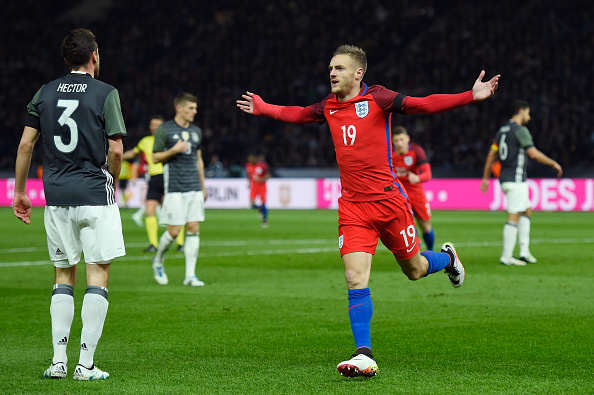 Why Leicesters Incredible Season Gives England Hope Vardy mike hewitt getty