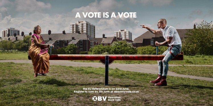 Everybodys Kicking Off About This Racist EU Referendum Poster ad 207565276