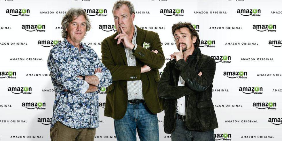 Clarkson, Hammond And May Have Finally Named Their New Show amazon1