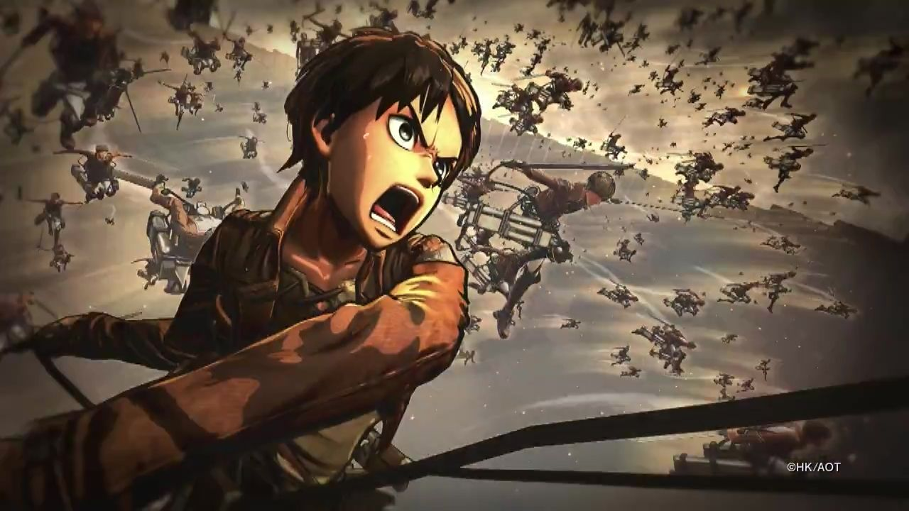 Four Crazy Minutes Of Attack On Titan Footage   In English aot ps4 screenshots
