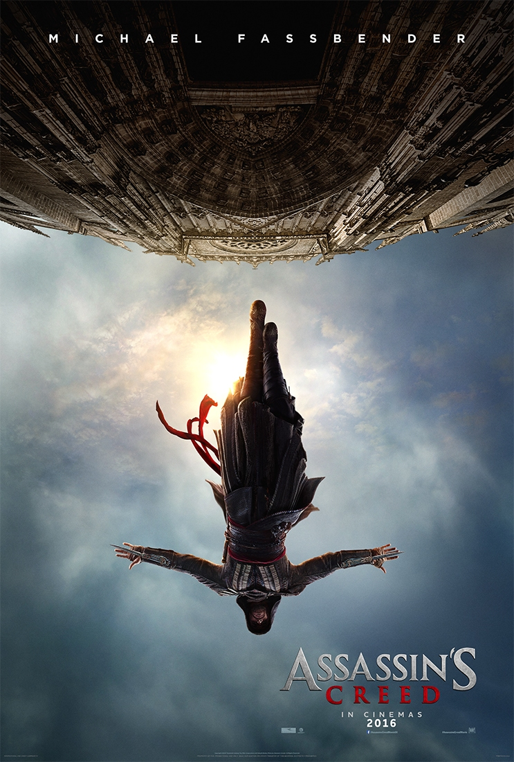 Assassins Creed Movie Gets First Trailer assassins creed poster