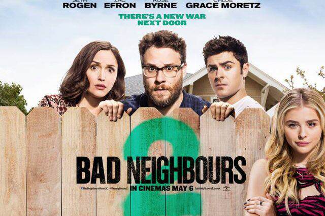 Bad Neighbours 2 Pretty Much The First Film Again, But Not All Bad bad neighbours 2 quad 640x426