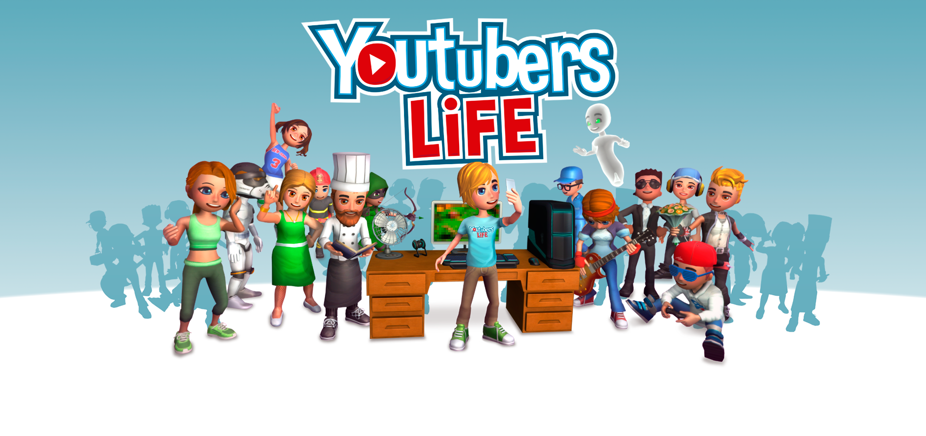 YouTubers Play A Game About Being YouTubers, Because YouTube bg home new