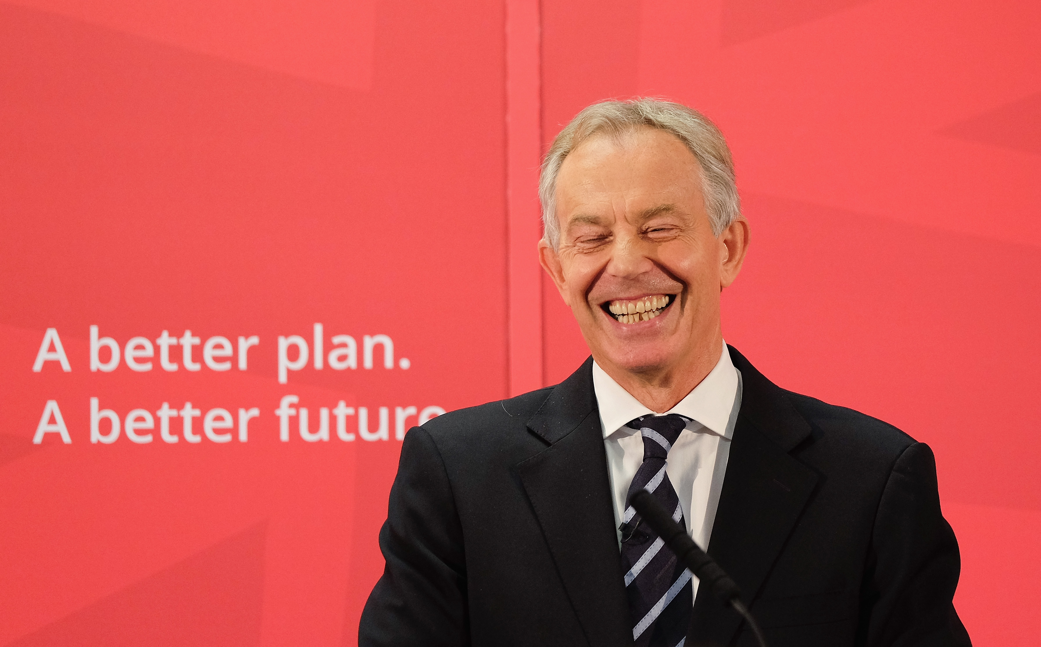 Former Prime Minister Tony Blair Returns To His Old Constituency