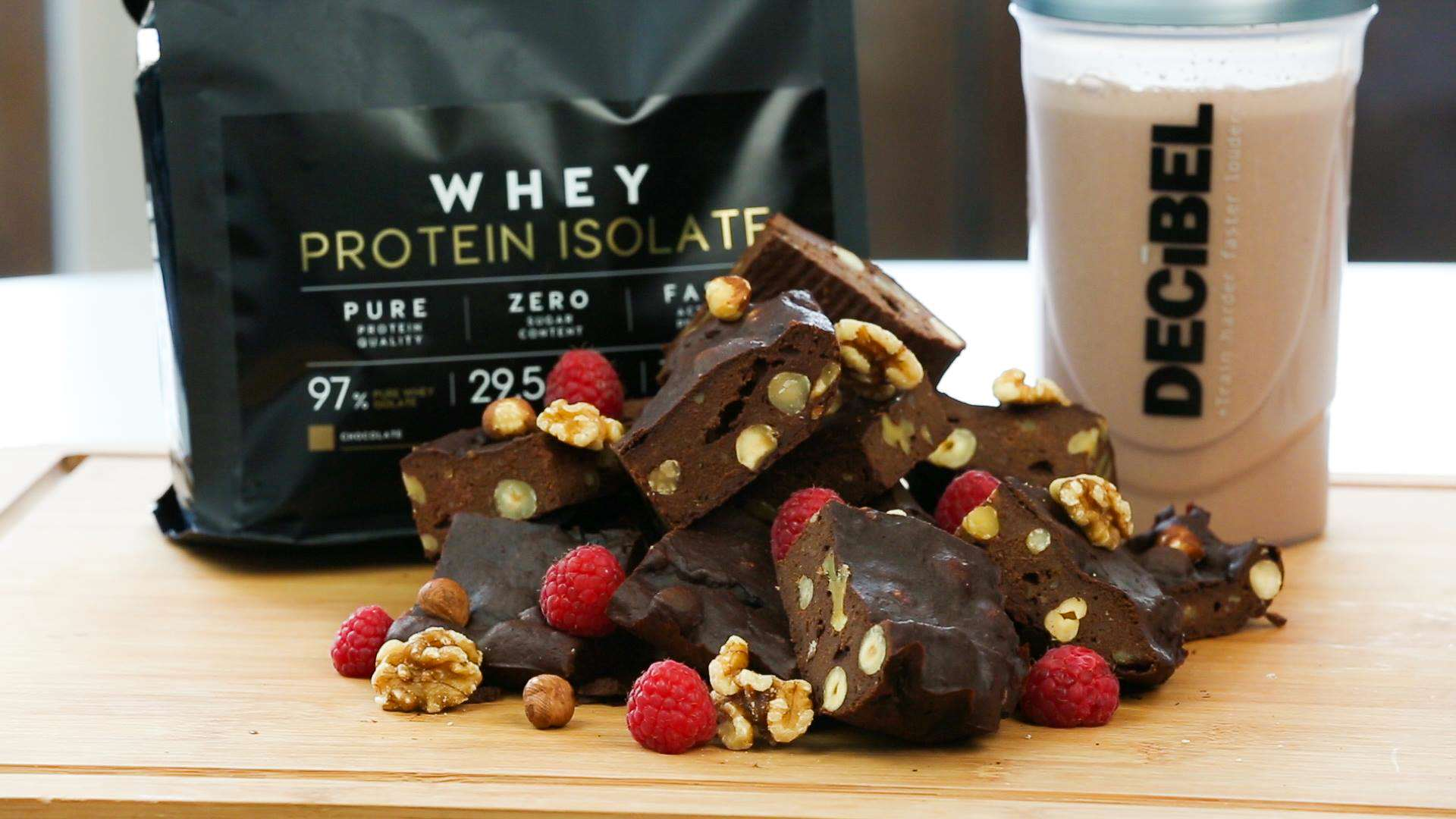Heres How To Make Protein Brownies browniestills1