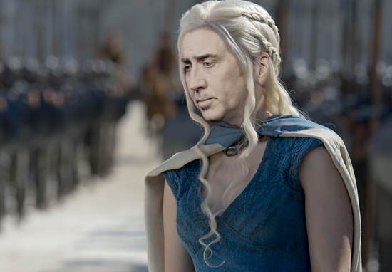 Nicolas Cage As Every Game Of Thrones Character Is Hilarious cage of thrones wt