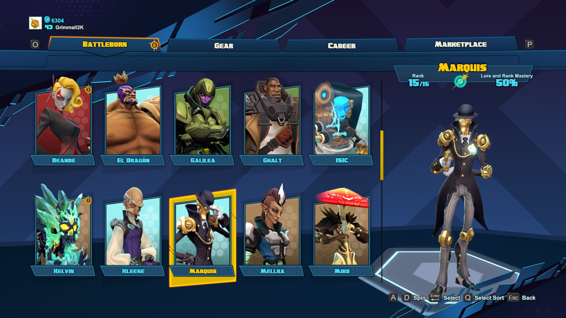 Battleborn Is A Collection Of Cool Ideas That Never Quite Gel command screen 2