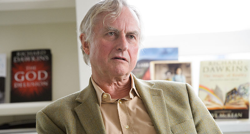 Interviewer Asked Richard Dawkins If He Turned To God During Stroke dawkin face