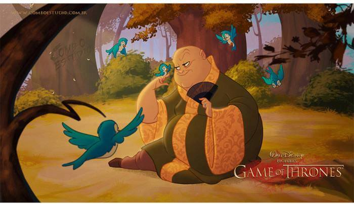 Artist Re Imagines Game Of Thrones As Disney Film And Its Glorious disney2