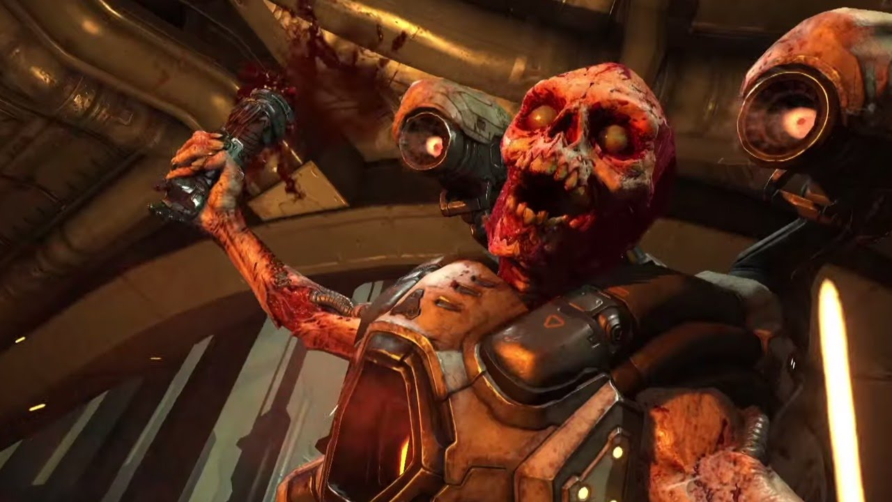 DOOM Is Being De Made In Classic Games By Some Modding Wizards doom bethsda