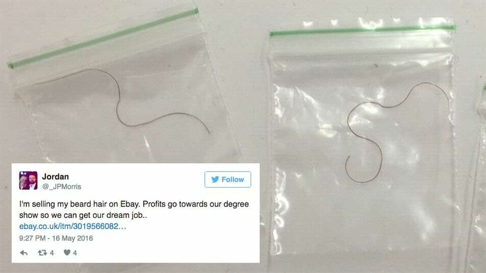 These Students Tried To Sell Beard Hairs As Free Meal Tokens ebay2