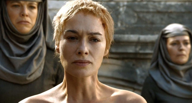 Woman Forced To Undergo Brutal Punishment From Game Of Thrones face got