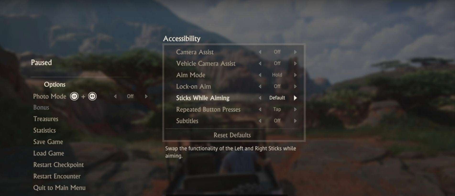 How One Disabled Player Inspired Uncharted 4s Accessibility Options gcot8xisvyistdqslnve