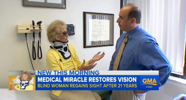 Womans Eyesight Returns After 20 Years In Weirdest Way Possible good 1