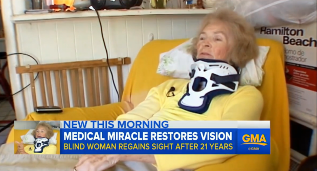 Womans Eyesight Returns After 20 Years In Weirdest Way Possible good