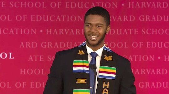 Harvard Students Incredibly Emotional Graduation Speech Has Gone Viral grad1