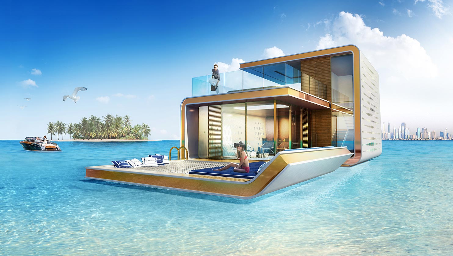 These Ultra Luxurious Floating Homes Look Incredible house2