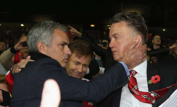 Man Utd To Replace Louis Van Gaal With Mourinho jose lvg