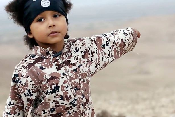 British Soldier Reveals ISIS Are Now Using Child Suicide Bombers kid isis