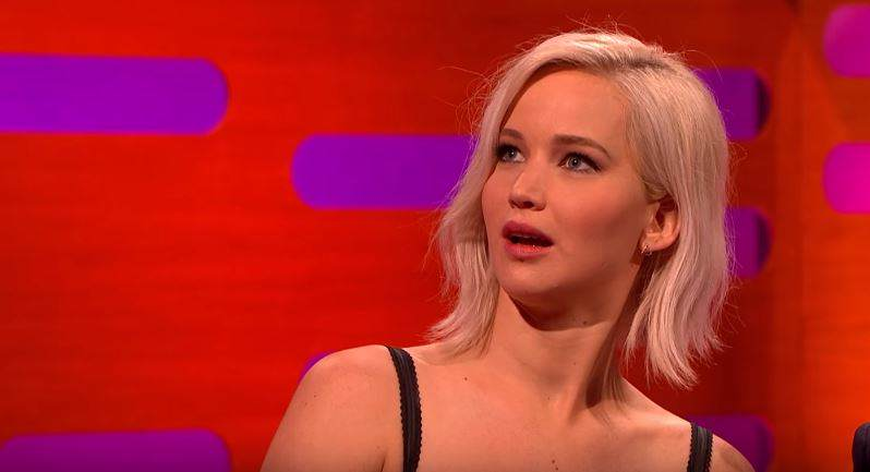Jennifer Lawrence Reveals Awkward Moment In Front Of Star Wars Cast lawrence1