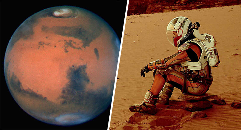 Incredible Photos Reveal That Parts Of Mars Arent Actually Red mars blue FB