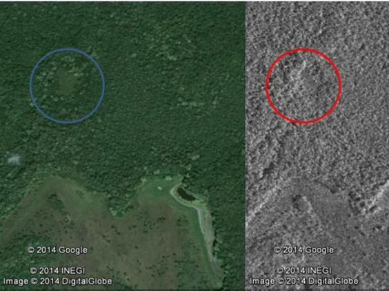 15 Year Old Discovers Ancient Lost City In Middle Of Jungle maya2