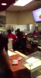 Two McDonalds Staff Brawl For Unbelievably Ridiculous Reason mcfight2