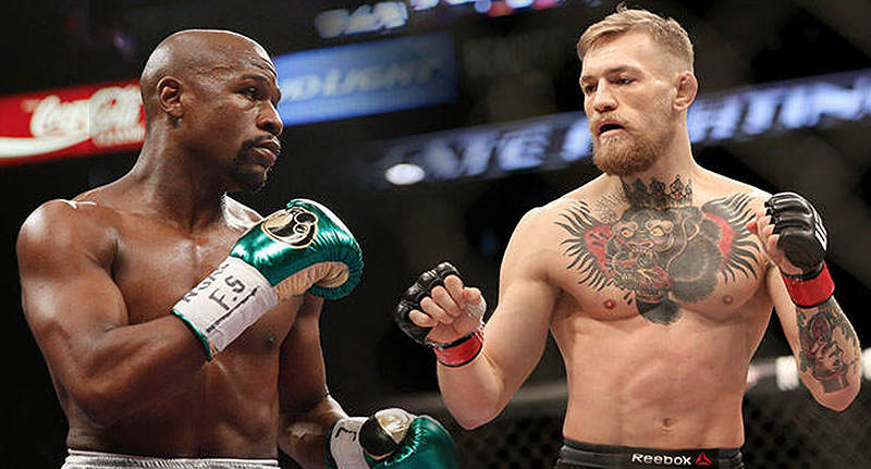Is Conor McGregor Vs Floyd Mayweather Super Fight Back On? mcgregor mayweather new FB 1
