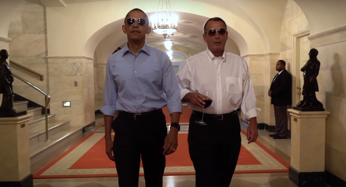 President Obama Releases Hilarious Spoof Farewell Video obama