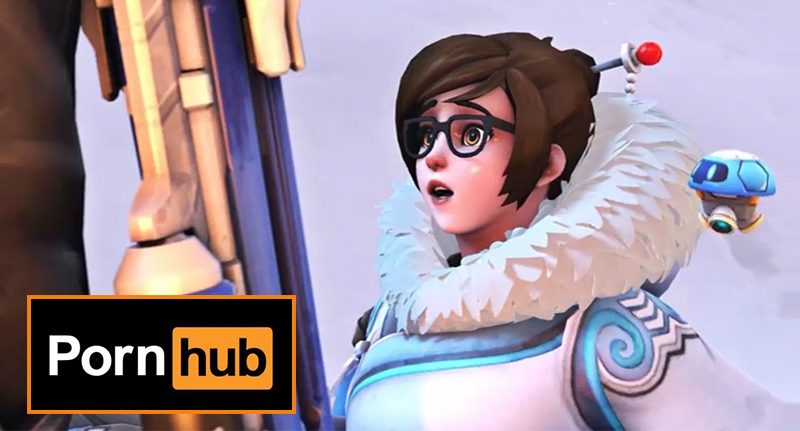 This Video Game Inspired Porn Is Being Removed From Pornhub overwatch porn FB