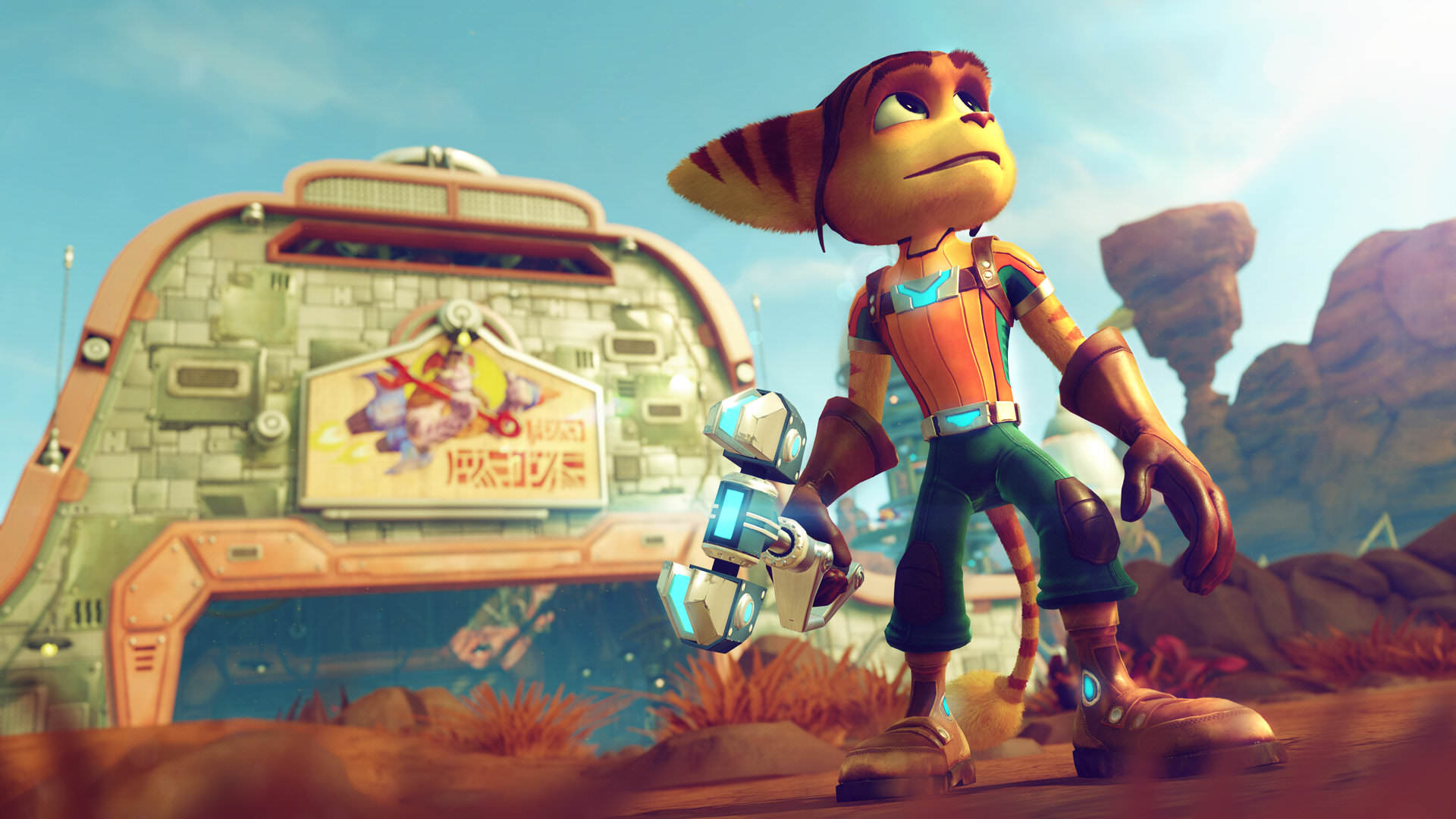 YouTube Reveal Top 10 Trending Games For April 2016 ratchet and clank screenshot 02 psv us 10jun15