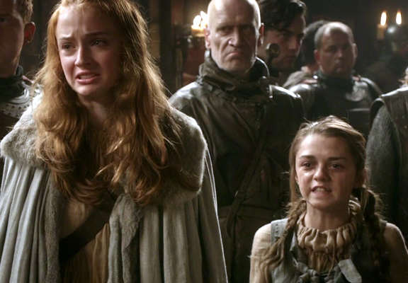 Game Of Thrones Cast Play Truth Telling Game, Drop Massive Bombshells sansa and arya featured