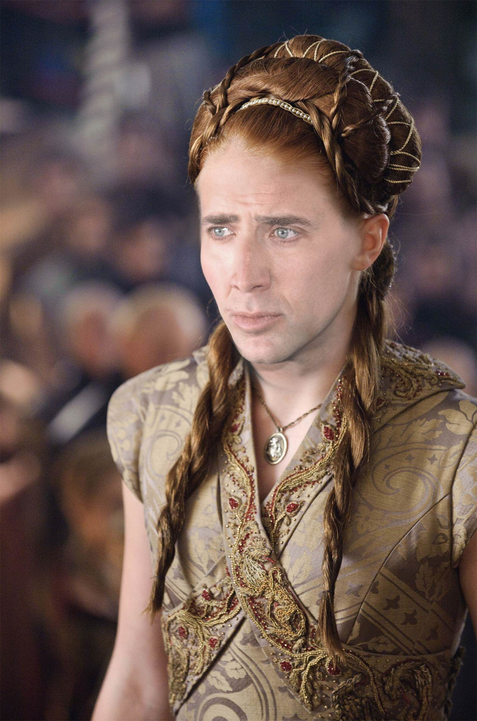 Nicolas Cage As Every Game Of Thrones Character Is Hilarious sansa stark