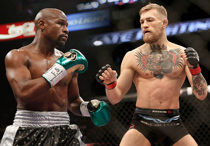 Floyd Mayweather And Conor McGregor On Verge Of Super Fight super 1