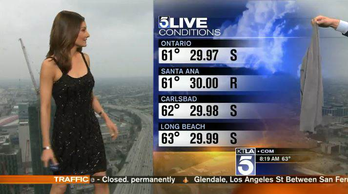News Station Accused Of Sexism After Presenter Forced To Cover Up sweater1