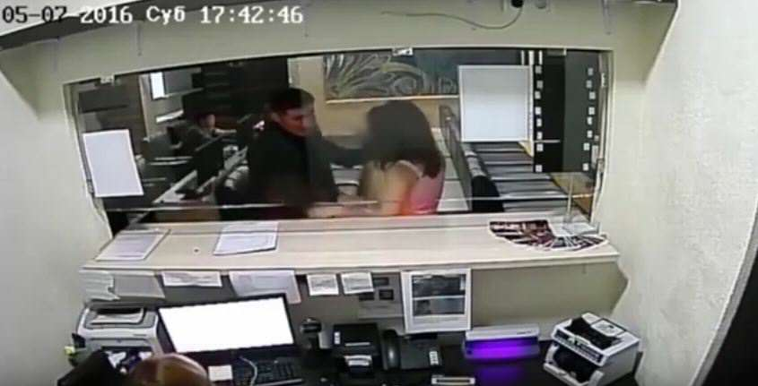 Topless Woman Uses Breasts As Weapons To Attack Security Guard vid 2