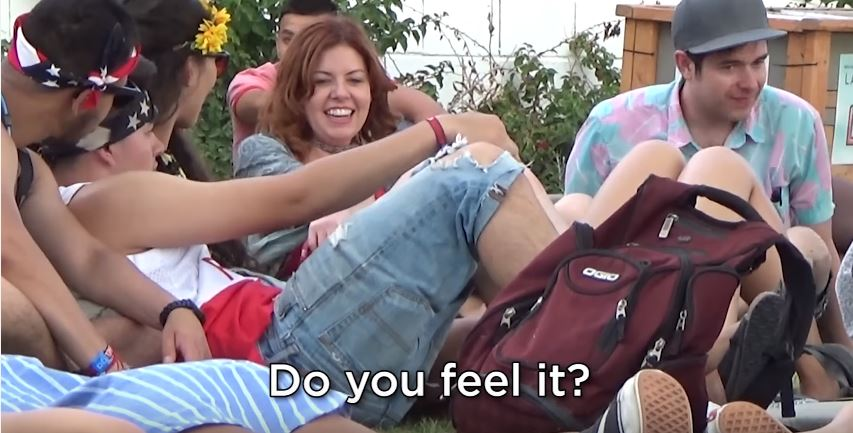 Woman Gives Fake Drugs To People At Coachella, Hilarity Ensues video3