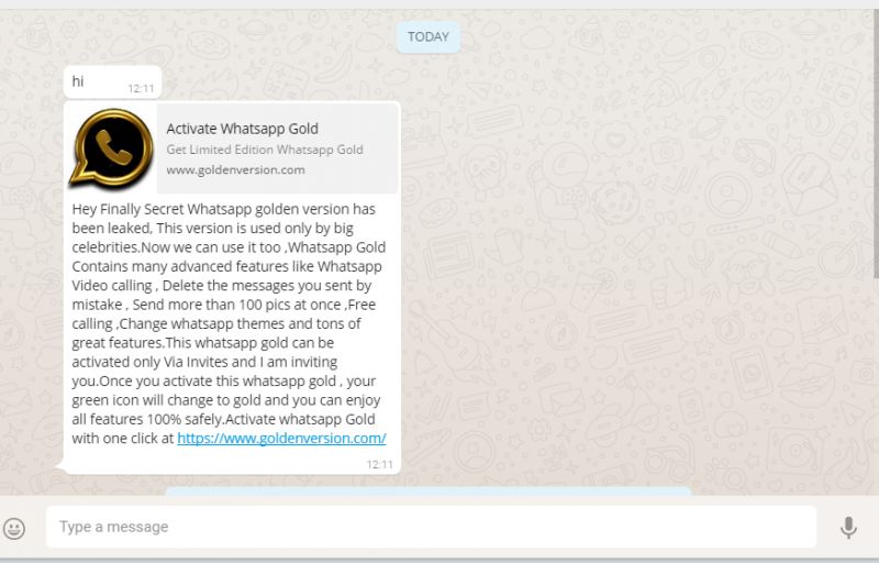 What Is WhatsApp Gold And Why Shouldnt You Download It? whatsapp gold