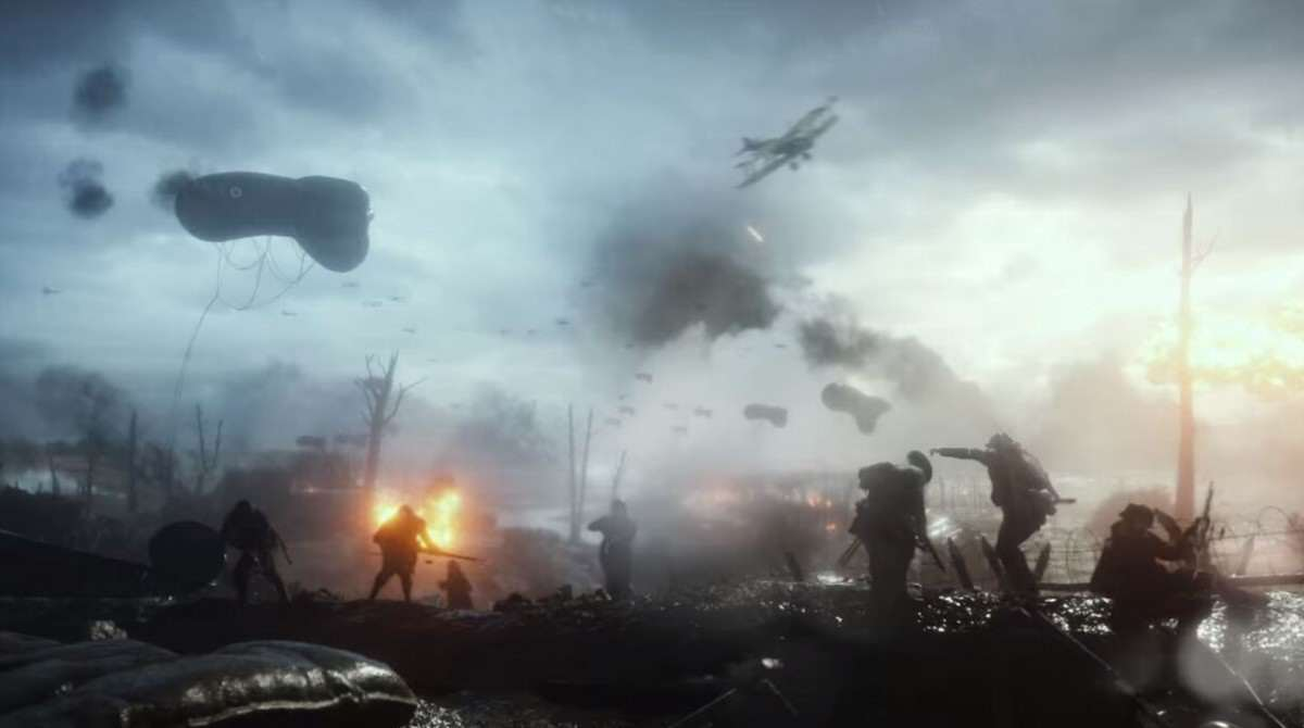 New Battlefield 1 Teaser Shows Off Melee Combat %name