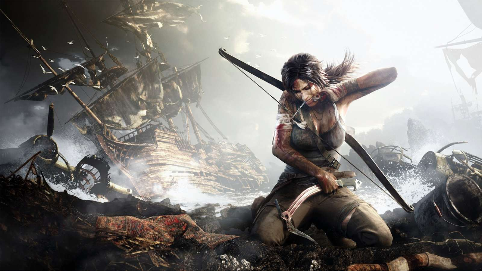Tomb Raider Actress Alicia Vikander Speaks Out About Her New Role 2013 tomb raider game wallpaper for 1600x900 hdtv 9 502