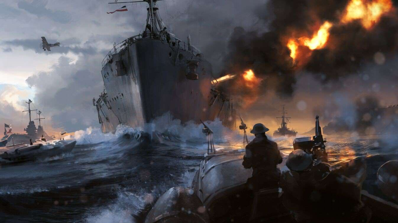Check Out This Gorgeous Battlefield 1 Concept Art 5jqlcW0