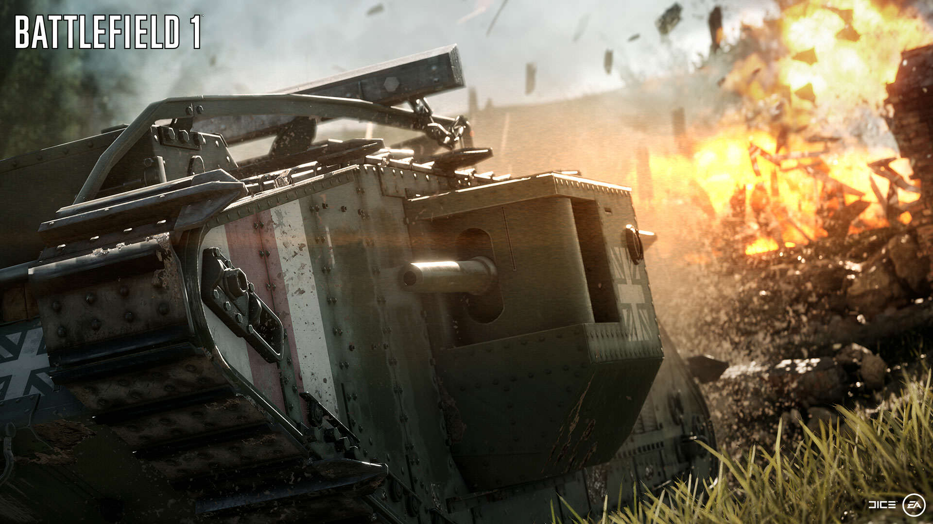 Battlefield 1 Gets Epic New Trailer And Gameplay Features BF1 EA PLAY 02 DESTRUCTION WM