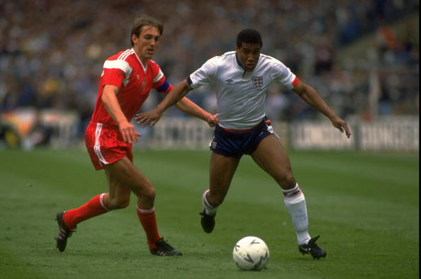 John Barnes of England and Prusik of Poland