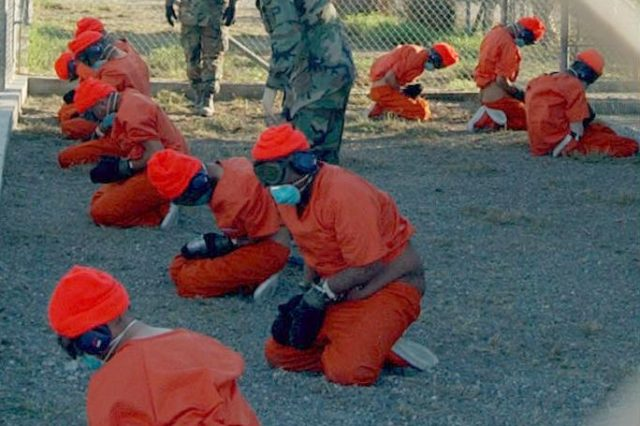 Declassified Documents Reveal Brutal Extent Of CIA Abuse And Torture Camp x ray detainees 640x426