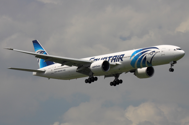 Missing EgyptAir MS804 Black Box Reveals Likely Cause Of Crash EgyptAir Boeing 777 300ER SU GDO BKK 2012 6 14 640x426