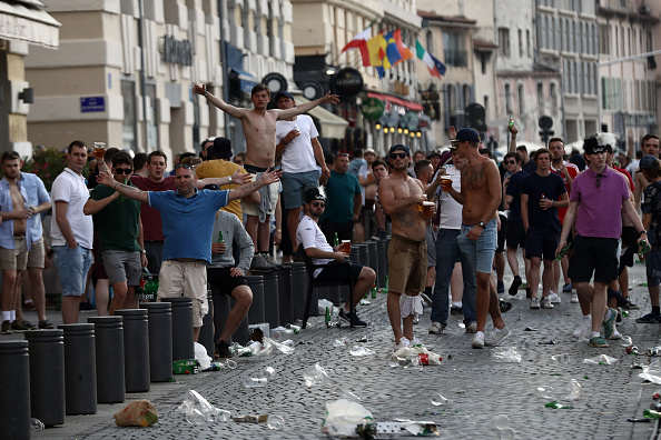 England Fan Fighting For Life After Being Beaten By Russian Hooligans England violence