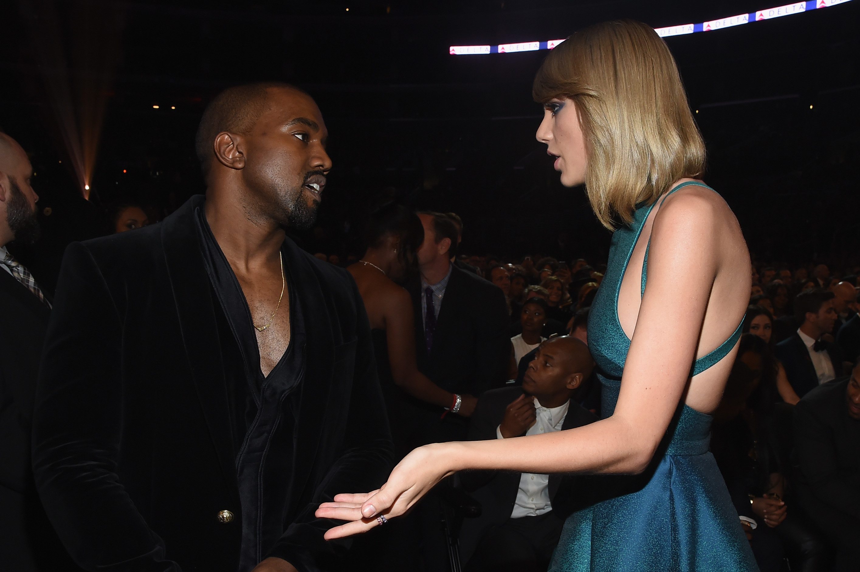 The Kanye West Taylor Swift Feud Has Just Got A Whole Lot Worse GettyImages 463036374