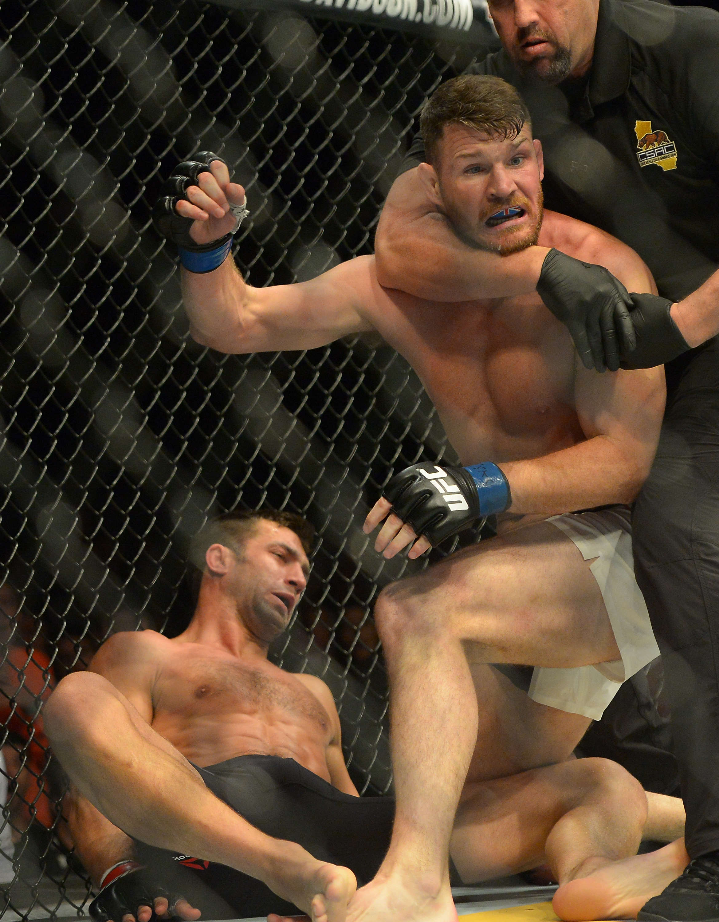 First British UFC Champ Michael Bisping Fires More Shots At Luke Rockhold GettyImages 538200308