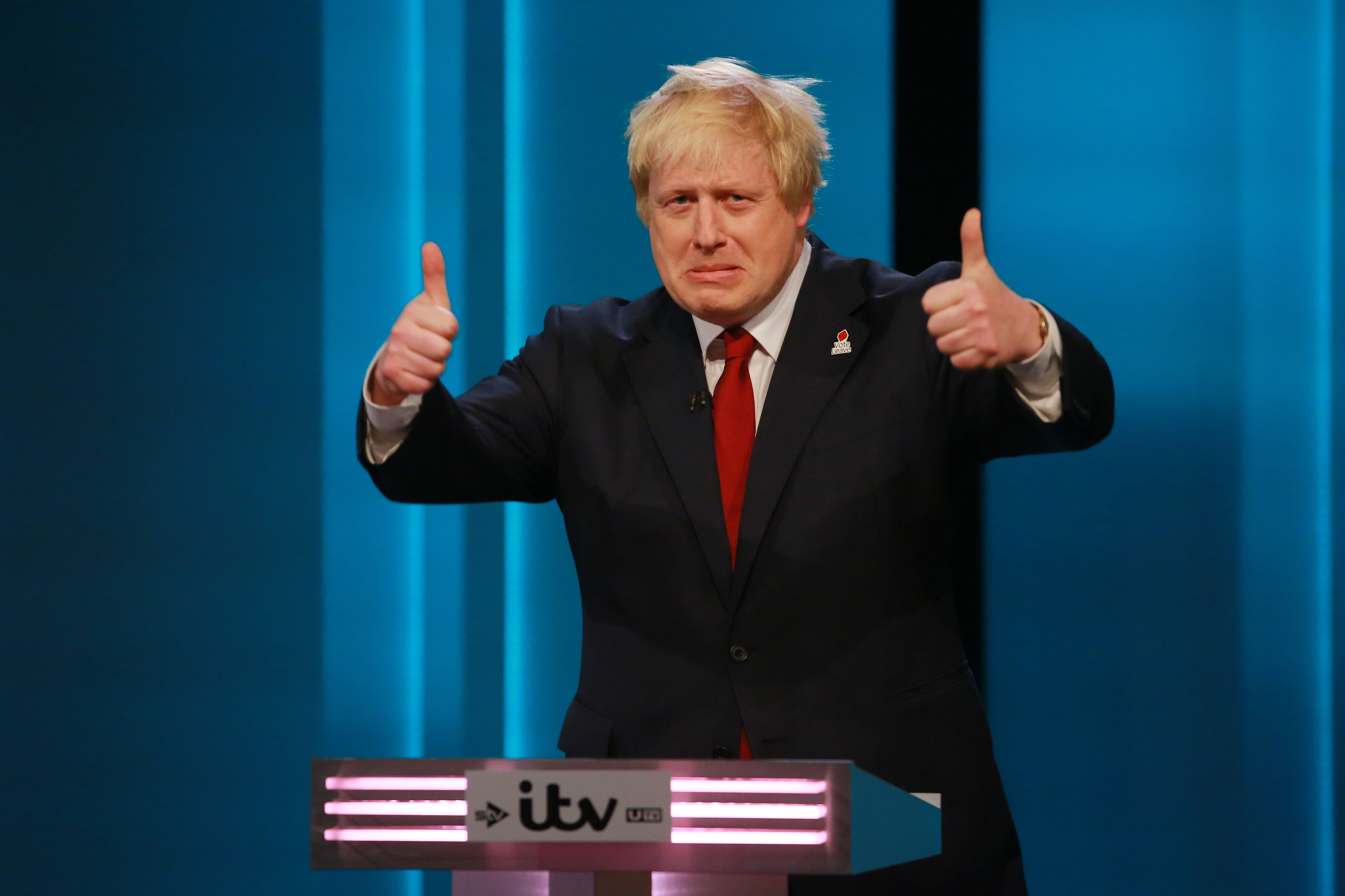 Boris Johnson And Nicola Sturgeon Debate The EU Referendum On ITV