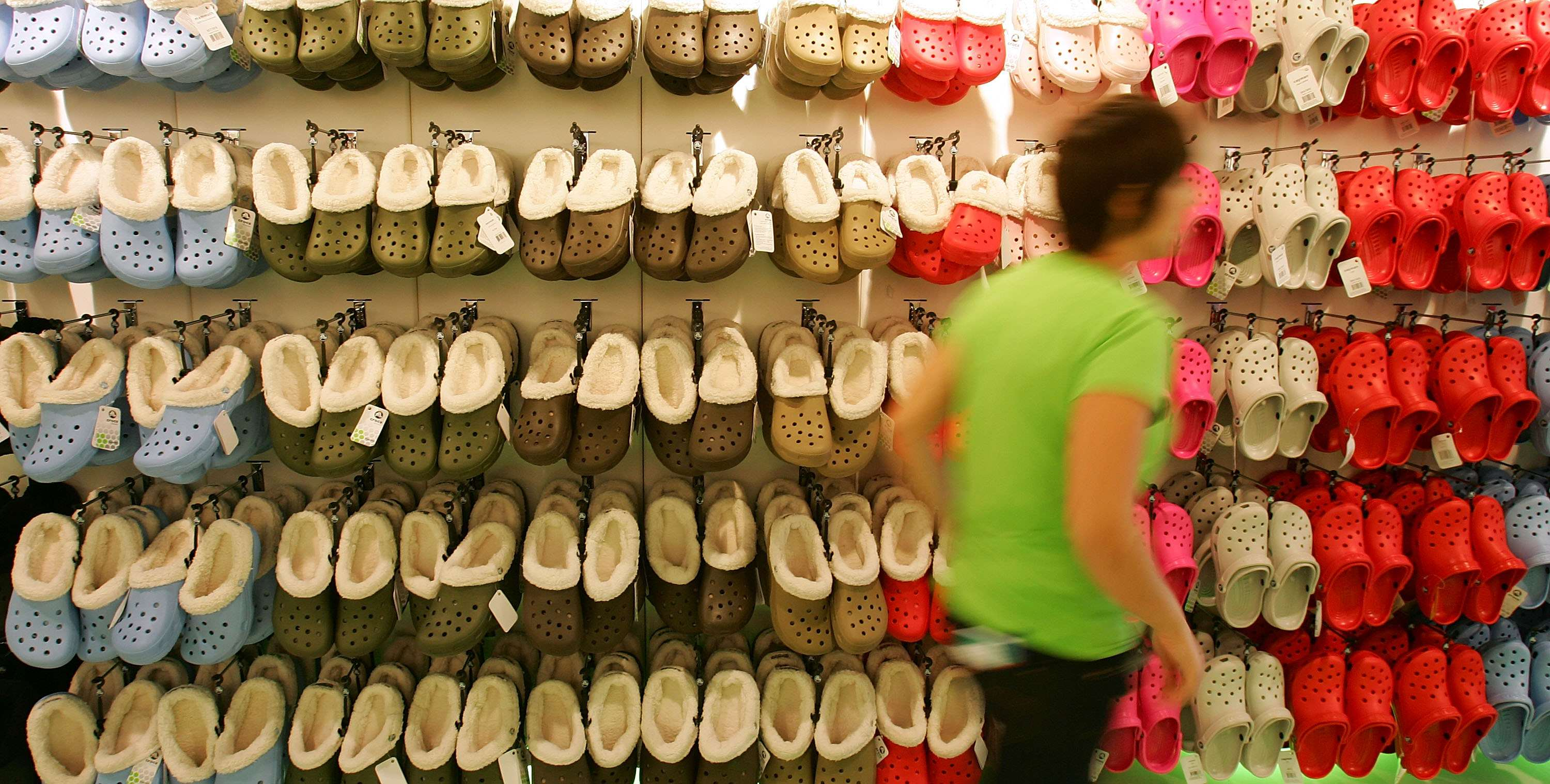 Turns Out Crocs Are Bad For Your Health, According To Doctors GettyImages 77394107
